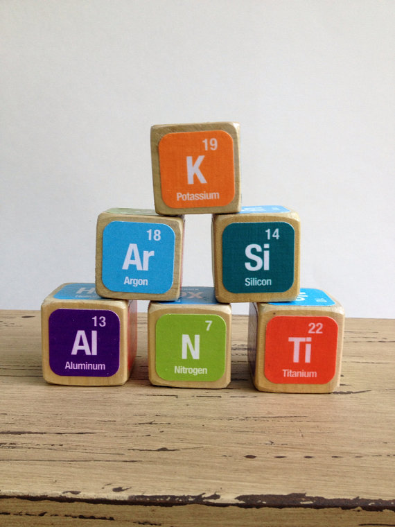 Periodic table building blocks best table 2018 periodic table building blocks toy element urtaz Images